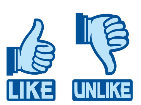 Likes and Unlikes